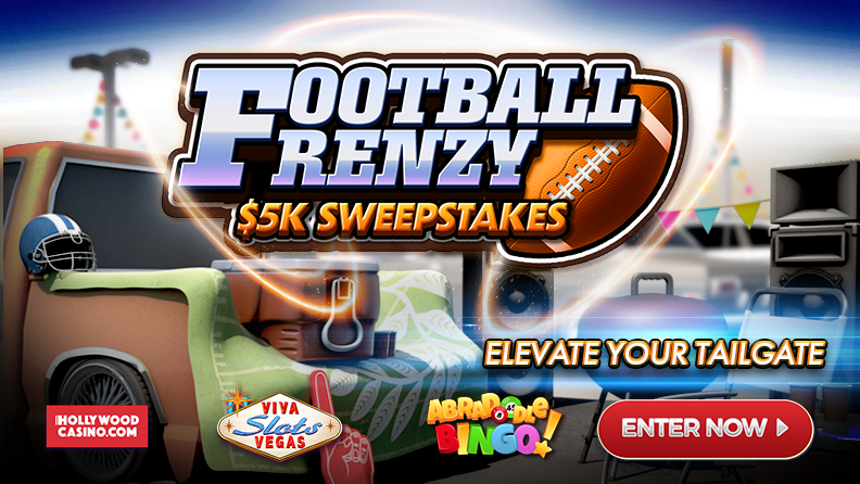 Football Frenzy $5k Sweepstakes